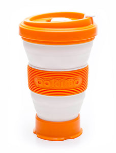Reusable pop up cup