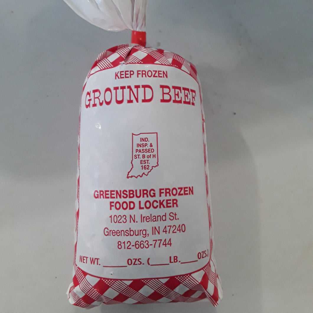 Souder Farms Frozen Ground Beef