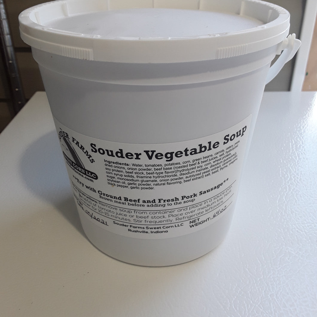 Souder Farms vegetable soup