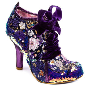 Irregular Choice Abigail's 3rd Party Purple Multi