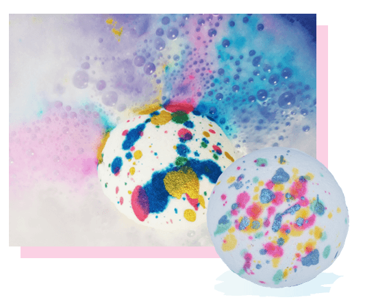 Five Colours In Her Hair Bath Bomb