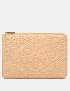 Yoshi Custard Cream Zip Top Pouch