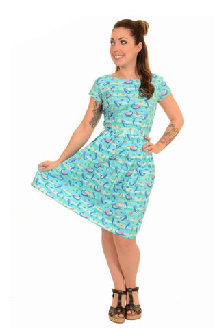Under The Sea Magical Mermaid Tea Party Dress