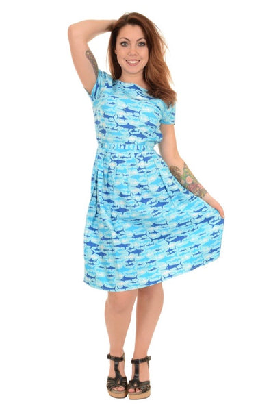 Jaws Tea Party Belt Dress
