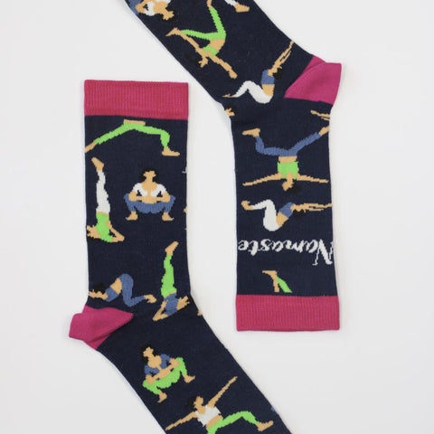 Sock Therapy 'namaste' women's bamboo socks