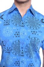 Supernatural Magic Symbol Print Shirt