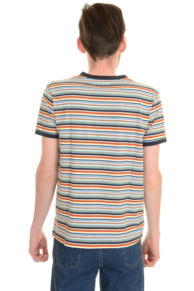 Multi Striped T Shirt