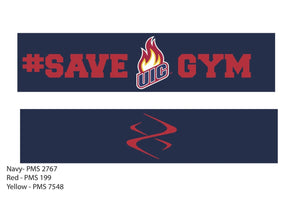 #SaveUICgym X Band