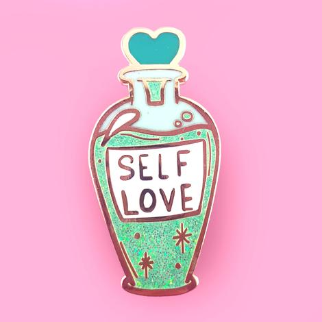 Jubly Umph Lapel Pin - Self-Love Tonic
