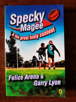 Arena, Felice - Specky Magee and the Great Footy Contest (Paperback)