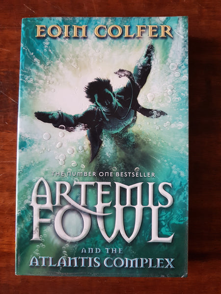 Colfer, Eoin - Artemis Fowl and the Atlantis Complex (Paperback)