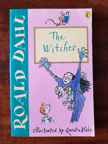 Dahl, Roald - Witches (Paperback)