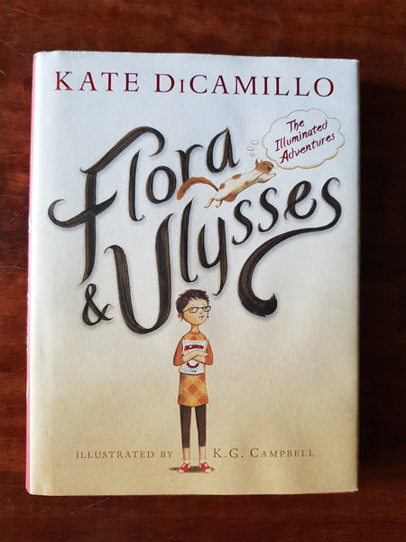 Di Camillo, Kate - Flora and Ulysses (Hardcover)