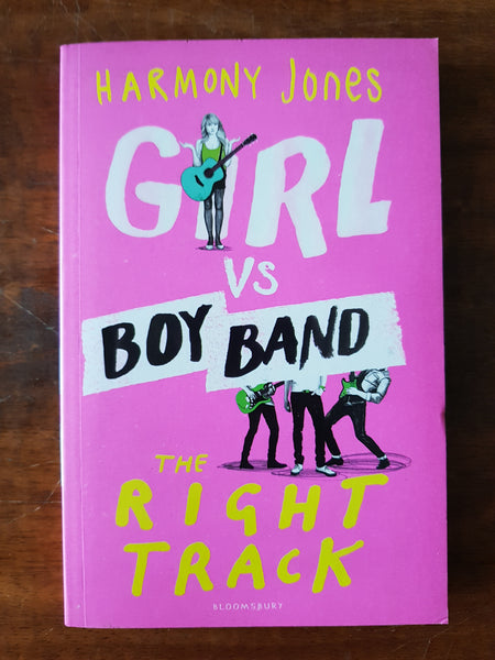 Jones, Harmony - Girl Vs Boy Band (Paperback)