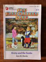 Martin, Ann M - Baby Sitters Club 11 (Paperback)