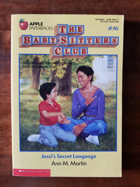 Martin, Ann M - Baby Sitters Club 16 (Paperback)