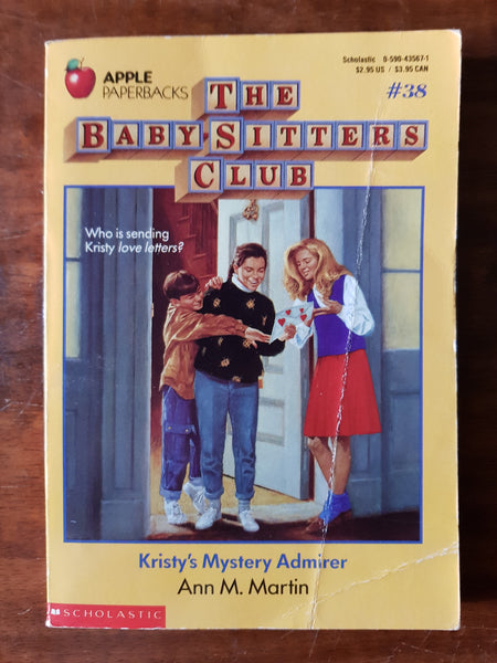 Martin, Ann M - Baby Sitters Club 38 (Paperback)