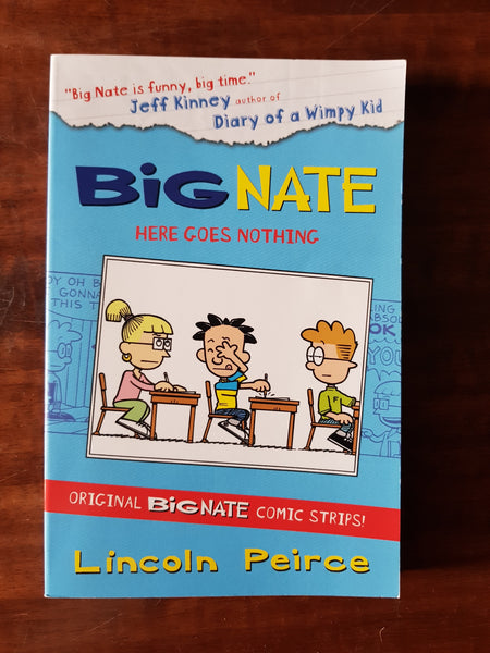 Peirce, Lincoln - Big Nate Here Goes Nothing (Paperback)