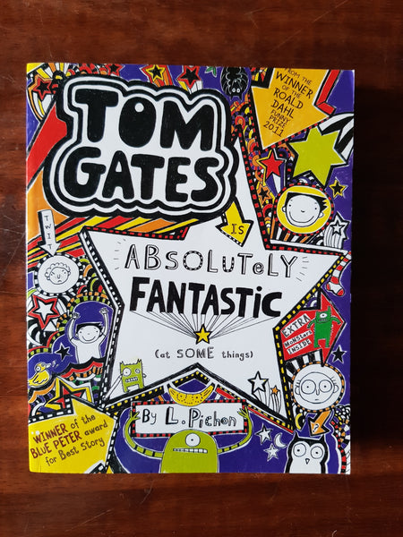Pichon, L - Tom Gates Absolutely Fantastic (Paperback)