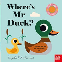 Board Book - Felt Flaps - Where's Mr Duck?