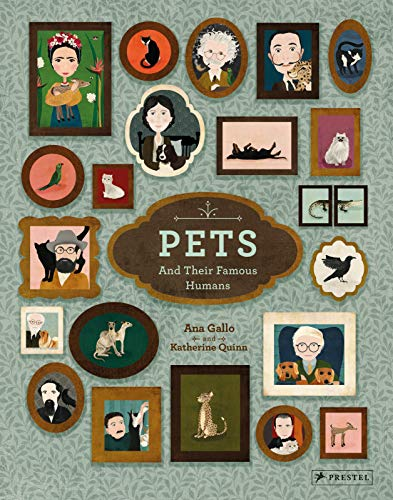 Hardcover - Pets and Their Famous Humans