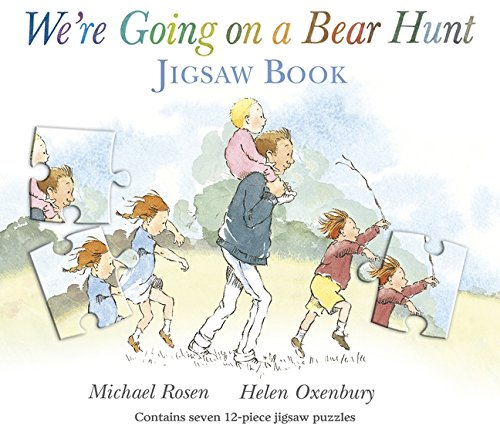Jigsaw Puzzle Book - Rosen, Michael - We're Going on a Bear Hunt