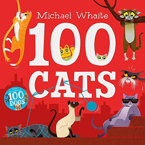 Board Book - Whaite, Michael - 100 Cats