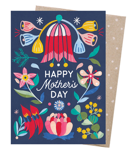 Earth Greetings Card - Mother's Day Blooms
