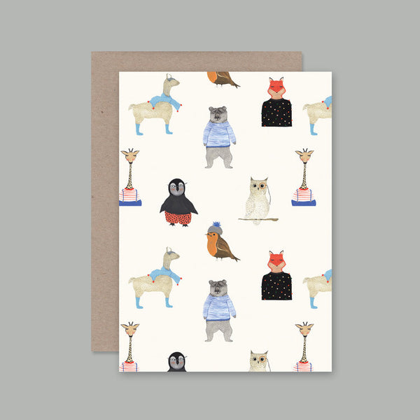 Ahd Paper Co - Animals and Clothes