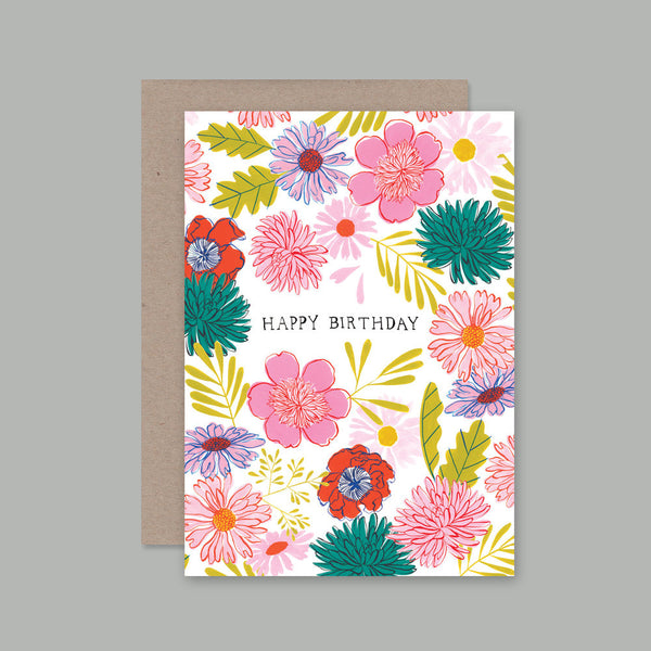 Ahd Paper Co - Birthday Flowers