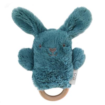 OB Designs - Wooden Teether - Banjo Bunny