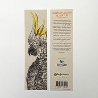 Marini Ferlazzo Bookmark - Sulphur-Crested Cockatoo