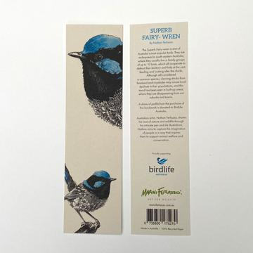 Marini Ferlazzo Bookmark - Superb Fairy-Wren