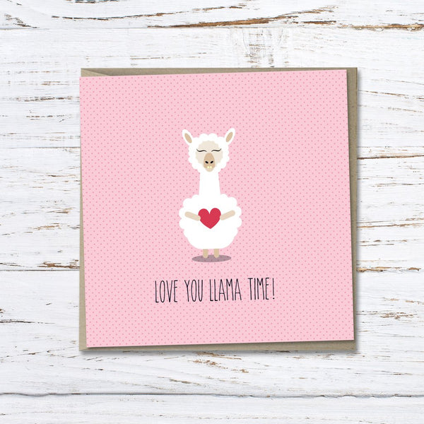 The Little Blah - Love You Llama Time