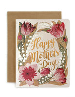 Bespoke Letterpress - Folk Happy Mother's Day