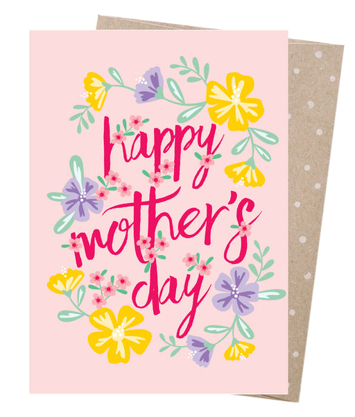 Earth Greetings Card - Mother's Day Hibiscus
