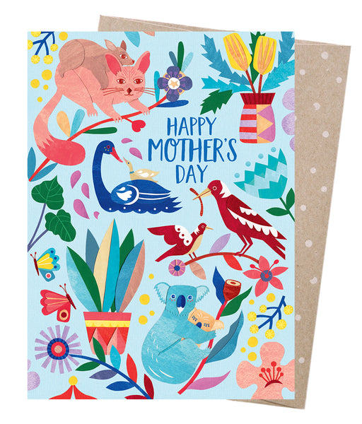 Earth Greetings Card - Mother Nature