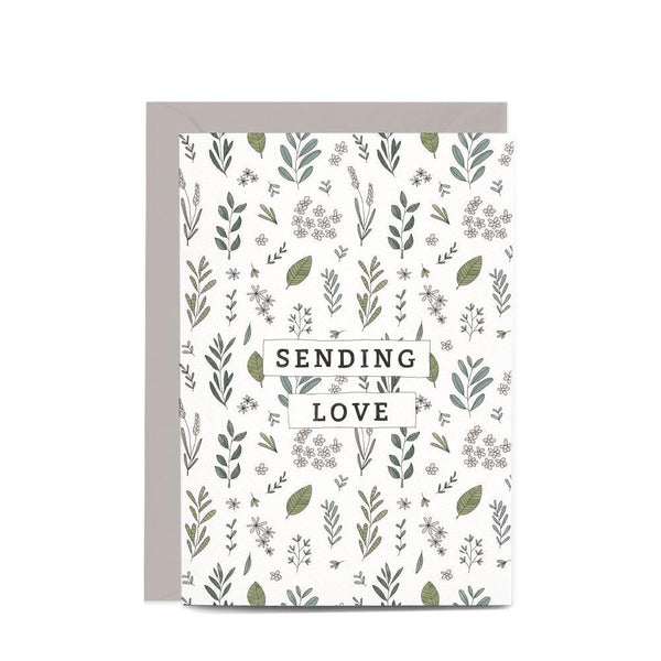In the Daylight Greeting Card - Sending Love