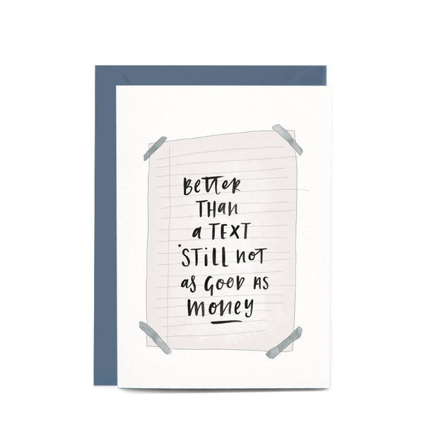 In the Daylight Greeting Card - Better Than a Text