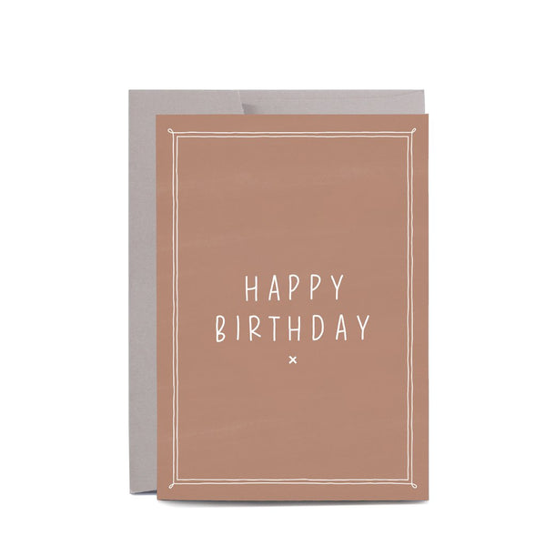In the Daylight Greeting Card - Blush Happy Birthday