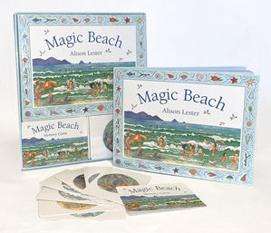 Board Book and Memory Card Game - Lester, Alison - Magic Beach
