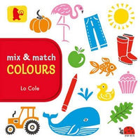 Board Book - Mix & Match - Colours