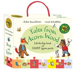 Jigsaw and Book - Donaldson, Julia - Tales from the Acorn Wood