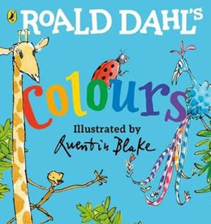 Board Book - Roald Dahl's Colours