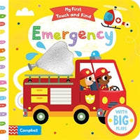 Board Book - My First Touch and Find - Emergency