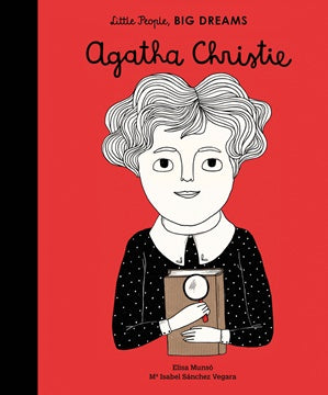 Little People Big Dreams Hardcover - Agatha Christie