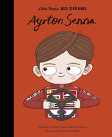 Little People Big Dreams Hardcover - Ayrton Senna