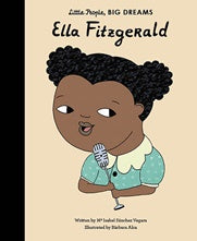 Little People Big Dreams Hardcover - Ella Fitzgerald