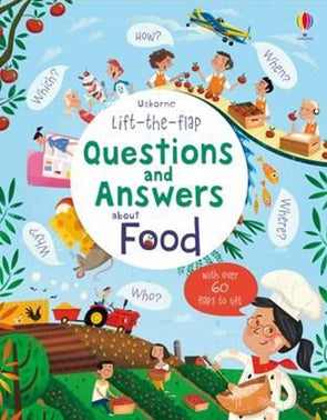 Board Book - Usborne Lift the Flap Questions and Answers - About Food