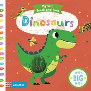 Board Book - My First Touch and Find - Dinosaurs
